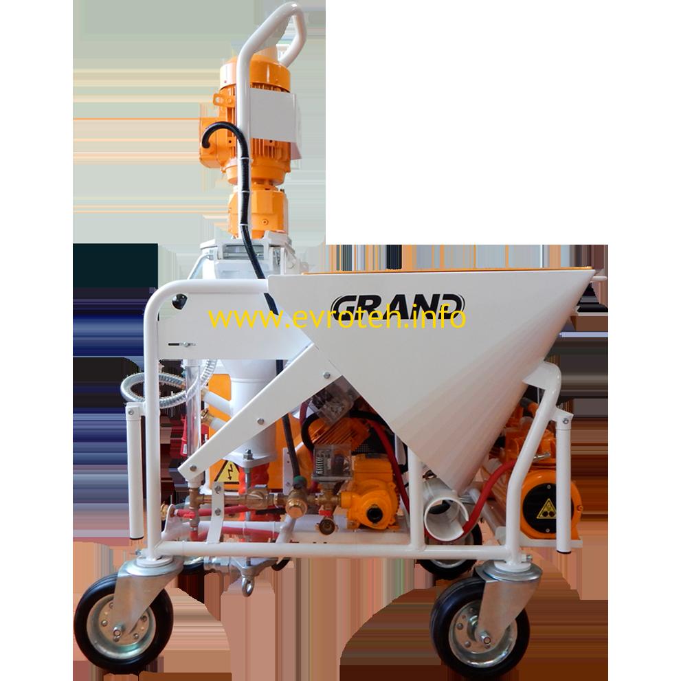аренда штукатурная станция для песчано цементного раствора