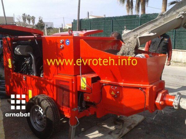 07676ae5f79d2836d4f47e6eb7b4a95e 600x450 - Торкрет установка Arnabat BH S.MAX 150/700