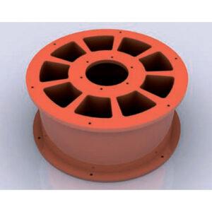 Ротор-барабан торкрет установки Lasparsan LPS-DCS-200