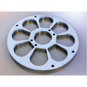 Плита стальная торкрет установки Aliva 285