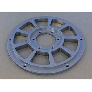 Плита стальная торкрет установки OCMER