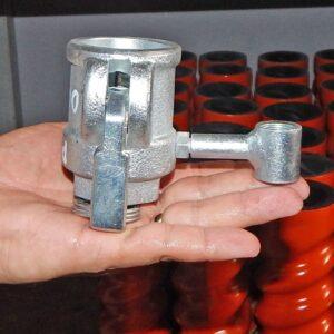 Соединение Camlock 25 мм с резьбой пистолета распылителя
