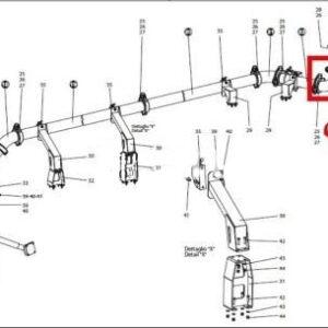 4809 300x300 - Угол DN125/R240 90* Cifa