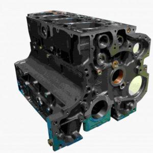 Блок цилиндров 32D двигателя DEUTZ BF4M1013