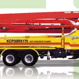 Автобетононасос KCP33ZX170