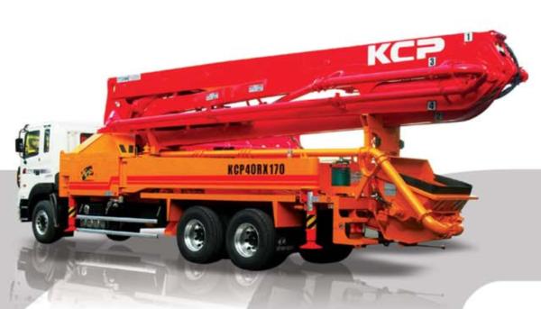 Автобетононасос KCP40ZX5170