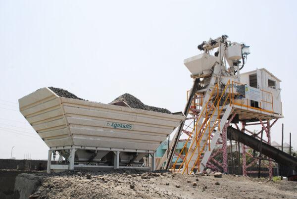 mobilnyy betonnyy zavod grand aquarius mp 21 1 600x402 - Мобильный бетонный завод Grand Aquarius MP 21