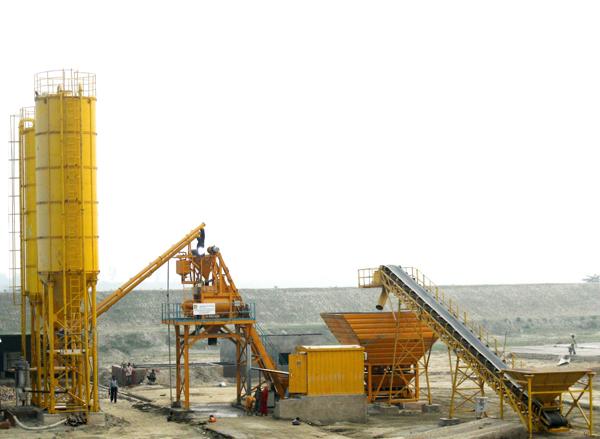 mobilnyy betonnyy zavod grand aquarius mp 60 3 - Мобильный бетонный завод Grand Aquarius MP 60