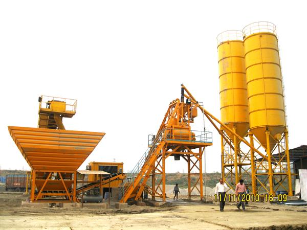 mobilnyy betonnyy zavod grand aquarius mp 60 6 - Мобильный бетонный завод Grand Aquarius MP 60