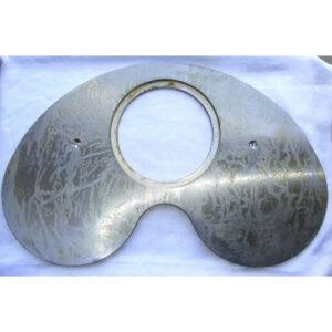 Плита шиберная 180 мм задняя Schwing