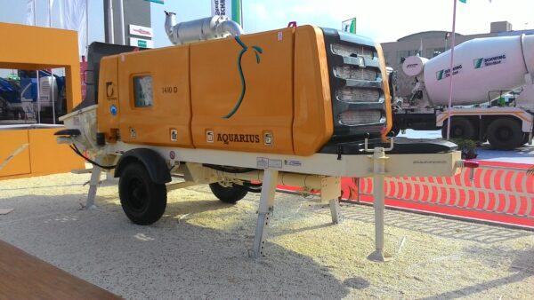 Стационарный бетононасос GRAND Aquarius 1410D