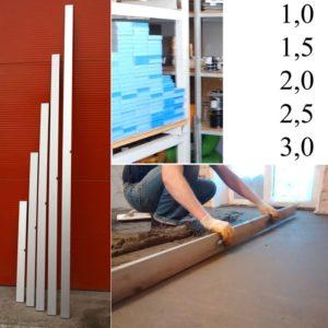 4805 big 300x300 - Правило 2.5м, алюминиевое с уровнем
